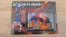 Hodinky + peněženka spiderman - sada č.3,