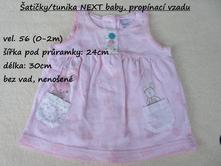 Šatičky zn. next baby (propínací), next,56