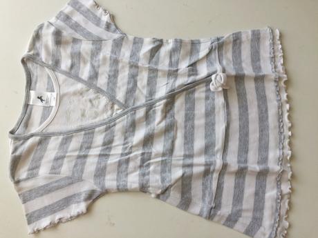 Dívčí tričko tunika č.077, c&a,122