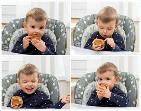 Davídek baští muffiny