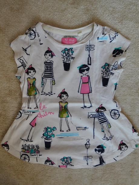 Tričko s holčičkama, next,98