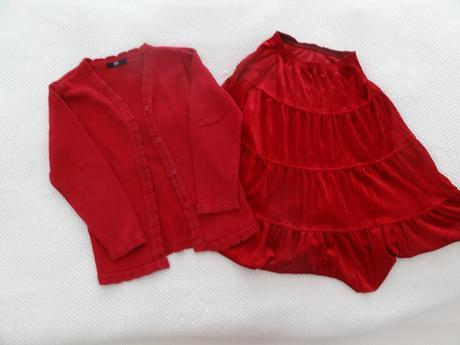 Červený komplet 134, bhs,134