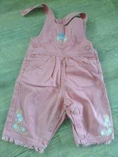 Sytě růžové kalhotky vyšívané, ladybird,68