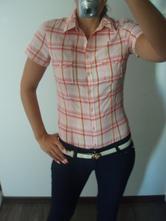 Košile s roll-up rukávy, h&m,36