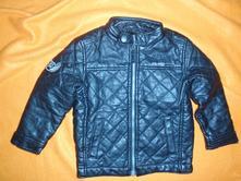 Luxusní černá prošívaná kožená bunda pro motorkáře, next,104