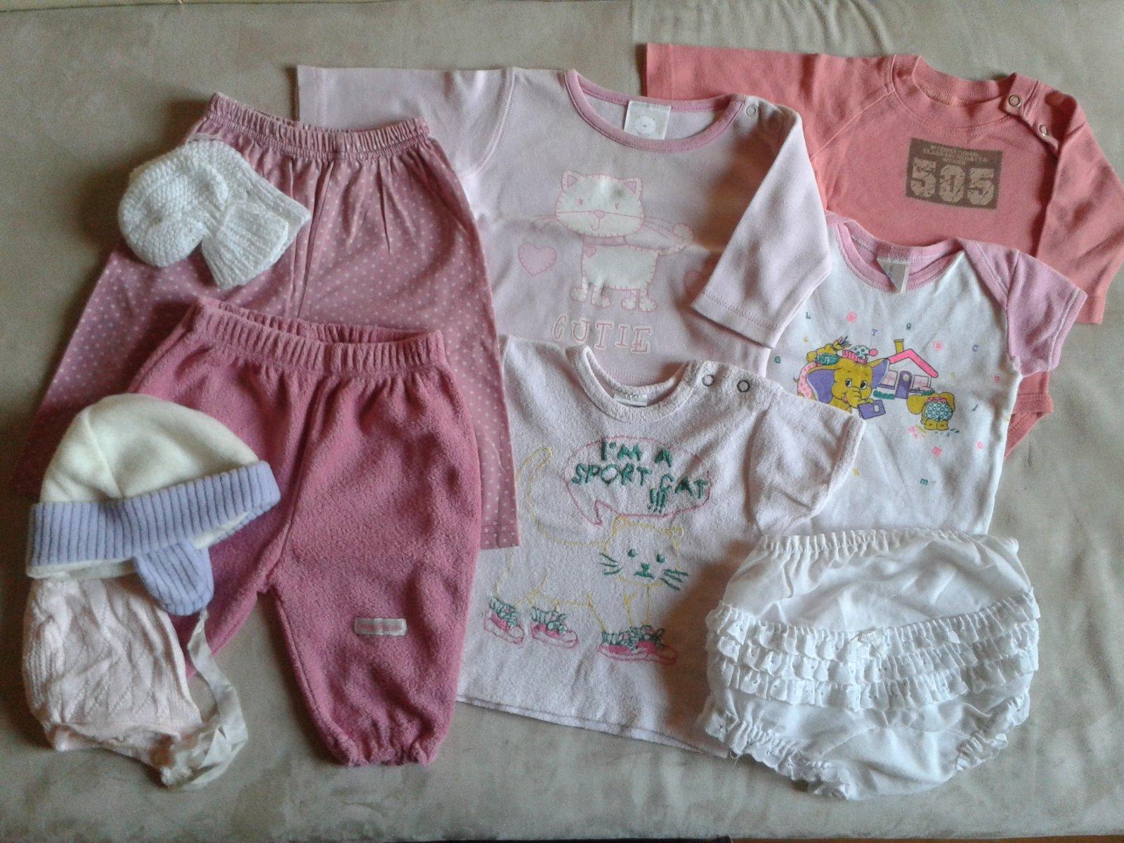 Set pro mimi holčičku 0-3 měsíce 601a237ec7
