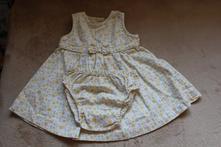 Šaty s puntíky, mothercare,62