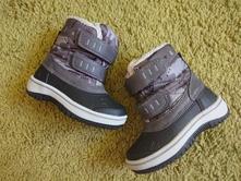 Zimní boty vel. 20, lupilu,20