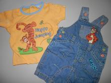 Set tričko a šortky, disney,68