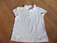 Bílé tričko, f&f,128