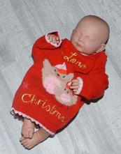 Vánoční dívčí svetr, 86