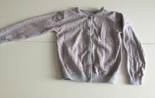 Tenký svetřík z bavlny srdíčka, pepco,122
