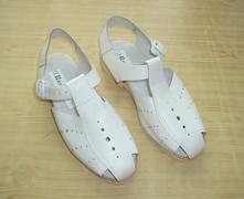 Bílé zdravotnické sandále vel. 39 - n.o.v.é, 39