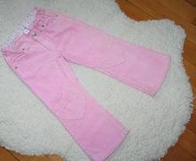 Kalhoty se srdíčky na kolenou, h&m,104