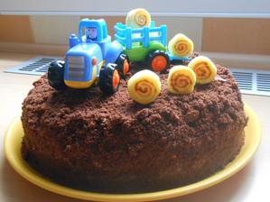 Dortík pro našeho Samuelka k 2. narozeninám:)