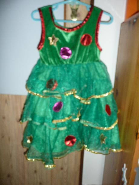 Šaty vánoční i maska vel 98/104 vánoce, george,98 / 104