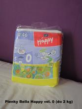 Plenky bella happy vel. 0 (do 2 kg), bella baby happy