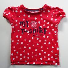 Puntíkaté tričko, next,98