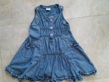 Džínové šaty, next,98
