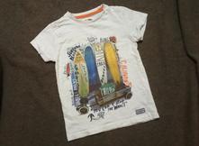 Bílé triko s obrázkem mothercare, mothercare,122
