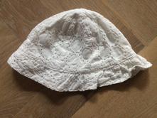 Bílý klobouček pro miminko h&m, h&m,62