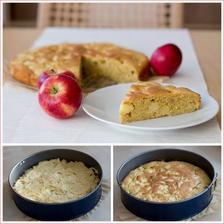Jablečný koláč se špaldovou moukou