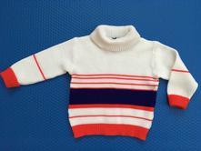 Retro svetr / svetřík loana, vel.86 - 92, loana,86