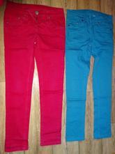 Kalhoty plátěná džínovina c+ a vel 146, c&a,146