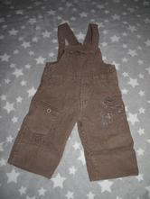 Manžestrové podšité lacláče, kalhoty, 86