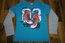 Dětské tričko s dlouhým rukávem, palomino,134