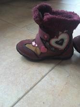 Zimní boty, botky na suchý zip, lupilu,26