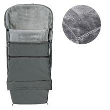 Emitex fusak combi 3v1  velvet - šedý/šedý, emitex