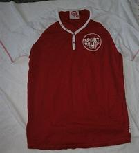 Pěkné,červeno-bílé triko - vel.m-l, l / m