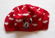 D52dívčí pletený baret minnie, disney,86