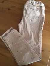 Manžestrové kalhoty h&m 128 vel., h&m,128