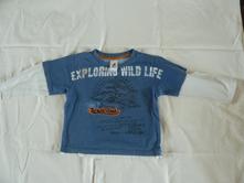 Značkové tričko, palomino,98