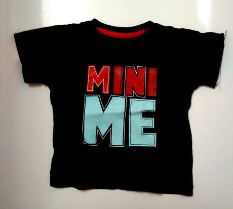 S31 - tmavě modré tričko mini me, rebel,92