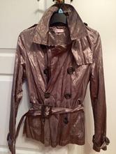 Metalický měděný  kabátek orsay vel. 34/36, orsay,34