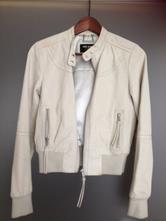 Bomber kožená bunda šedá pepejeans london vel.s,36, pepe jeans,s