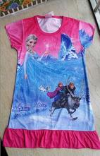 Letní šatičky-pyžamo ledové království - motiv 17, 104 - 152