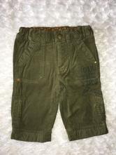 Khaki manžestrové kalhoty h&m, h&m,68