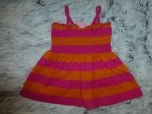 Oranžovo-růžová tunika 1-3 roky, 92
