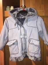 Kabát s kožíškem, mothercare,98