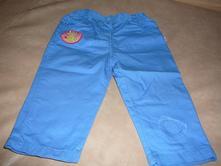 Plátěné kalhoty - vel. 80/86, baby,80
