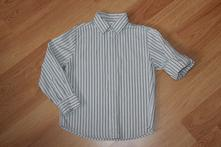 Chlapecká košile next proužky, vel. 110-116, next,110