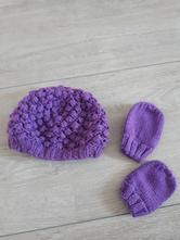 Cepice, rukavice - komplet, f&f,74