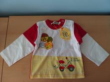Nové tričko s dlouhým rukávem, frog,80 / 86