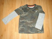 Maskáčová mikina/triko reserved, vel. 104, reserved,104