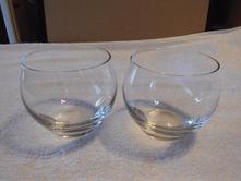 2x sklenice,
