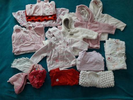 Set oblečení pro holčičku 3-6m,